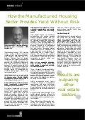 How the Manufactured Housing Sector Provides Yield Without Risk - Stephen Wheeler, HAS Capital, LLC