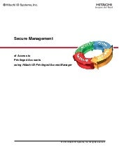 Secure Management of Privileged Pas...