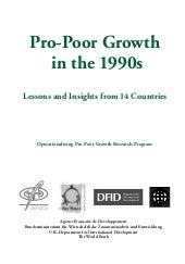 Pro poor growth-in_the_1990s