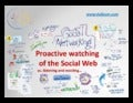 Proactive watching of the social web