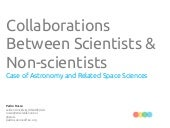 Collaborations Between Scientists &...