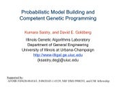 Probabilistic Model Building and Co...