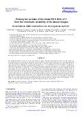 Probing the jet_base_of_blazar_pks1830211_from_the_chromatic_variability_of_its_lensed_images