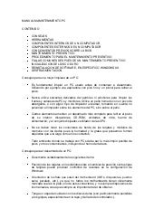 MANUAL MANTENIMIENTO PC