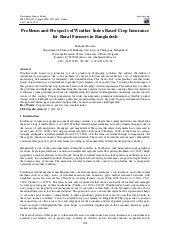 Problems and prospects of weather i...