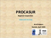 Procasur: Learning routes