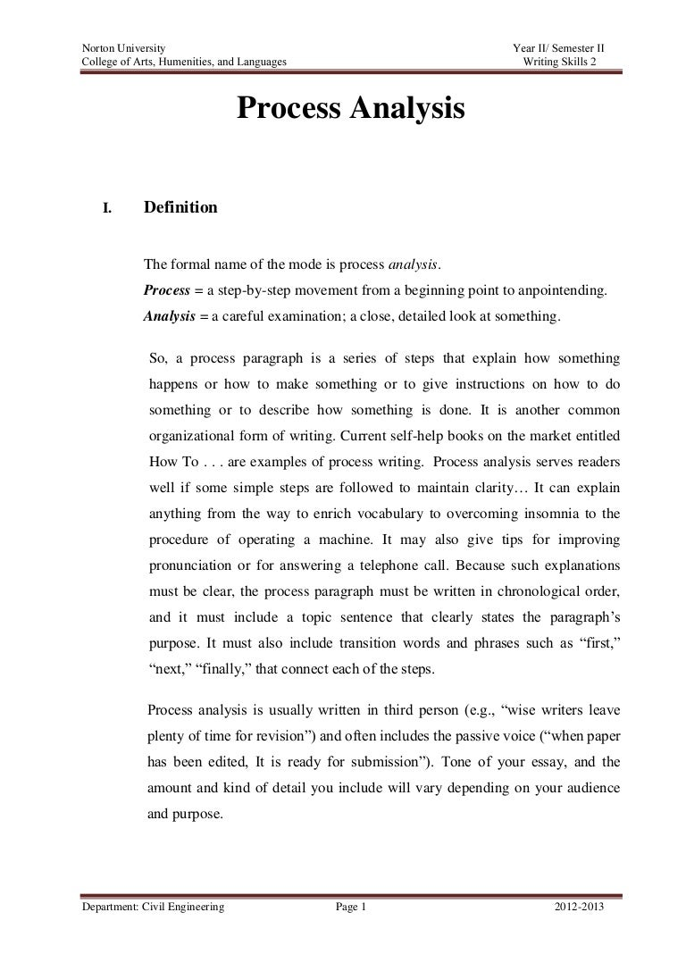 analytical essay example on a book
