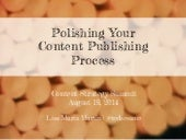 Polishing Your Content Publishing Process