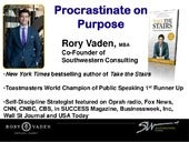 Procrastinate on purpose  full keynote stripped
