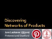 Inferring networks of substitute and complementary products