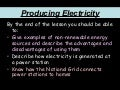 Producing Electricity2
