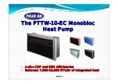Double Duct Interior Mount Heat Pump