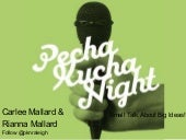 What is PechaKucha?