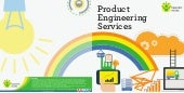 Product engineering services at a glance