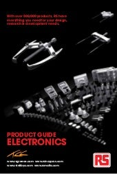RS Malta - Product Guide to Electro...