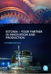 Estonia - Your Product Innovation a...