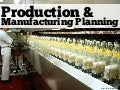Production and Manufacturing Planning