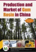 Production and market of gum rosin in china 2010