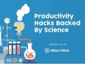 10 Productivity Hacks Backed By Science
