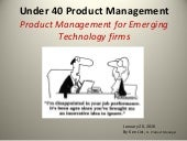 Product Management for Second-Stage...