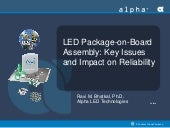 LED Package-on-board Assembly: Key ...