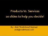 Products Vs. Services - The Smarties Guide