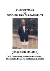 Prof.  dr. rs mehta book