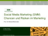 Social Media Marketing - Chancen un...