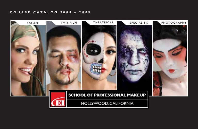 Makeup Artist Courses Catalog