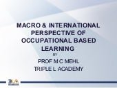MACRO & INTERNATIONAL PERSPECTIVE O...
