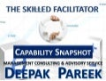 Consulting Profile - Deepak Pareek