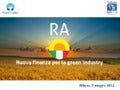 PROGETTO RA - Renewable Assets
