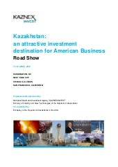 Kazakhstan projects road show 2012