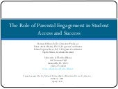 Program: The Role of Parent Engagem...