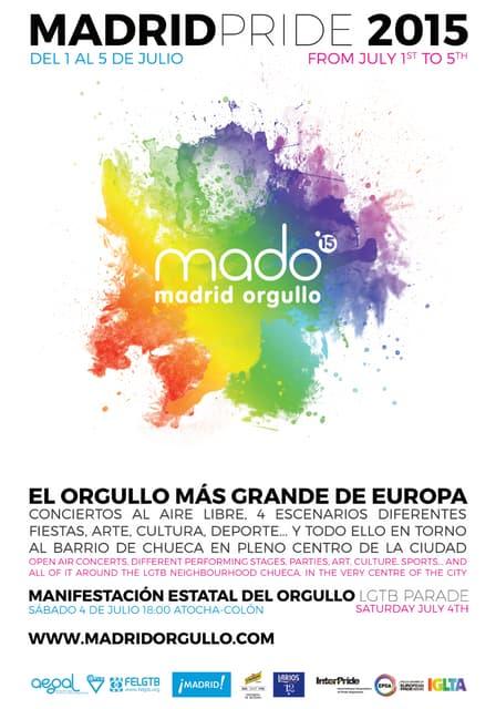 Fiestas Orgullo Gay 2015
