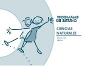 Programa de ciencias naturales media