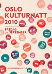 Program for web oslo kulturnatt 201...