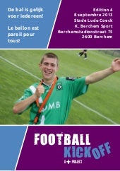 Brochure Football Kick-Off 2013