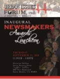 Program - Urban Issues Forum Newsmakers Luncheon