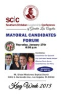 SCLC Mayors Forum 2013