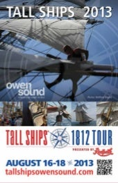 TALL SHIPS Owen Sound 2013