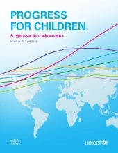 Progress for Children 10: A Report ...