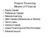 Proj.fin.term+loan