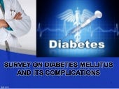 diabetes mellitus & their complicat...