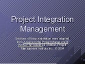 Project integration-slidesppt3386