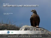 Project Enterprises and Biodiversity