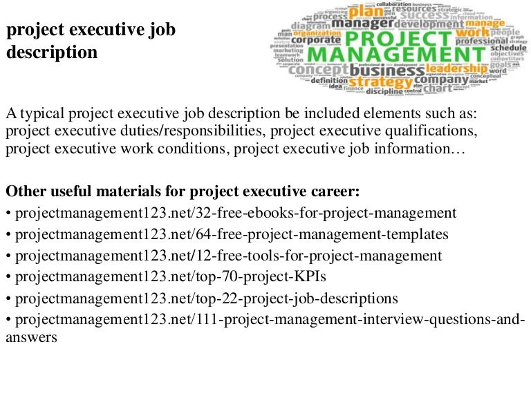 sample job description project manager job resume sample – Construction Manager Job Description