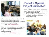Project Interaction-Family Involvement