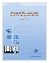 Project management by MS Project 2010