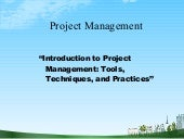 Project management.ppt @ doms